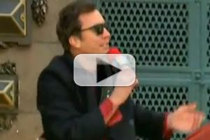 STAGE TUBE: Jimmy Fallon & The Roots Perform at Macy's Day Parade!