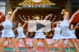 STAGE TUBE: Radio City Rockettes Spread Cheer at Macy's Parade!