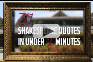 STAGE TUBE: Stratford's 2012 Shakespeare School Performs 37 Quotes in 2 Minutes