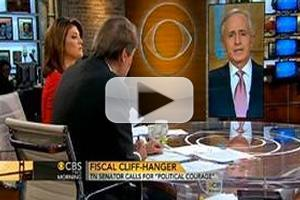 VIDEO: Sen. Corker Talks 'Fiscal Cliff' on CBS THIS MORNING