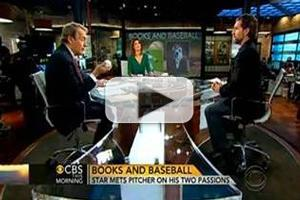 VIDEO: NY Mets Pitcher R.A. Dickey Visits CBS THIS MORNING