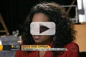 VIDEO: Oprah Winfrey Visits CBS THIS MORNING