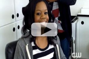 VIDEO: First Look at Olympian Gabby Douglas on THE VAMPIRE DIARIES