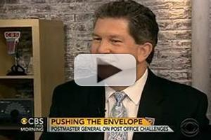 VIDEO: U.S. Postmaster General Visits CBS THIS MORNING