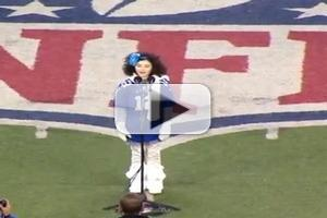 VIDEO: ANNIE's Lilla Crawford Sings National Anthem at Giants Game
