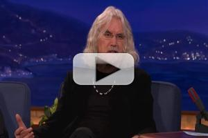 VIDEO: Billy Connolly Tells CONAN He Once Smoked a Bible
