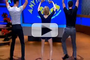 STAGE TUBE: ANYTHING GOES Cast Taps on GOOD DAY LA!