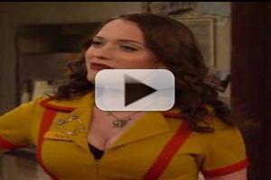 VIDEO: Sneak Peek - 'And The New Boss' Episode of CBS's 2 BROKE GIRLS