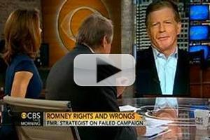 VIDEO: Romney Chief Campaign Strategist Visits CBS THIS MORNING