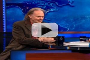 VIDEO: Legendary Singer Neil Young Visits 'JON STEWART'