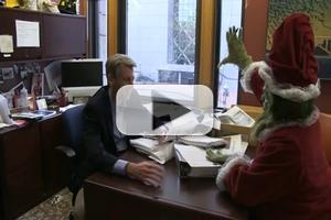 STAGE TUBE: CTC's 'Grinch' Visits Minneapolis Mayor R.T. Rybak