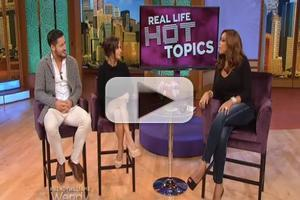 VIDEO: Val Chmerkovskiy and Kelly Monaco Talk DWTS and More on WENDY WILLIAMS