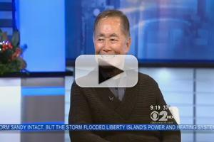 STAGE TUBE: George Takei Talks ALLEGIANCE on CBS New York