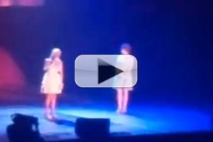 STAGE TUBE: Kristin Chenoweth and Anna Kendrick Sing 'For Good' at Trevor Live