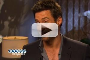 VIDEO: Hugh Jackman Chats X MEN: DAYS OF FUTURE PAST on Access Hollywood