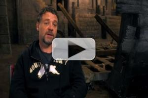 STAGE TUBE: Russell Crowe Talks Singing Live as 'Javert' on the Set of LES MISERABLES!