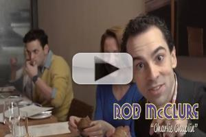 STAGE TUBE: CHAPLIN's Rob McClure and More Help Create Chaplin-Themed Dish at David Burke Kitchen!