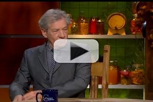 VIDEO: Ian McKellen Kicks Off 'Hobbit Week' on THE COLBERT REPORT