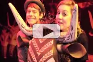 STAGE TUBE: Andrew Keenan-Bolger Goes INSIDE THE LION KING Anniversary Exhibit in NYC!
