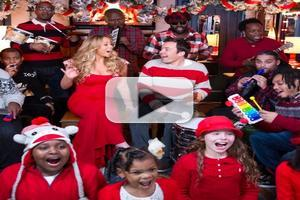 VIDEO: Mariah Carey Sings Holiday Duet With JIMMY FALLON