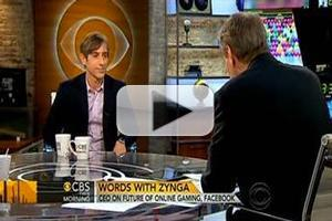 VIDEO: Mark Pincus, Zynga CEO & Co-Founder, Visits CBS THIS MORNING