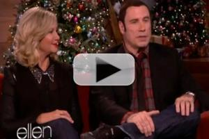 VIDEO: John Travolta, Olivia Newton-John Reunite on ELLEN