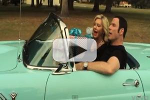 VIDEO: John Travolta and Olivia Newton-John Sing 'I Think You Might Like It' from New Holiday Album