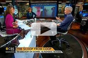 VIDEO: Anderson Cooper Discusses Temporary Blindness on CBS THIS MORNING