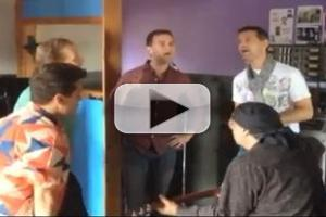 STAGE TUBE: The Midtown Men Record Van Zandt's New Arrangement of 'All Alone on Christmas'