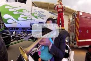 STAGE TUBE: Dominick Farinacci and Monster Truck Driver Give Toys for Hurricane Victims and Concert, 12/7