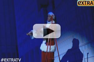 STAGE TUBE: Backstage with Michael Strahan at Broadway Debut in ELF