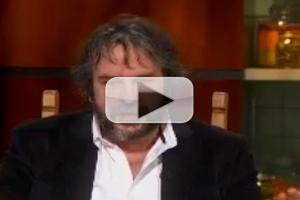 VIDEO: HOBBIT Director Peter Jackson Visits THE COLBERT REPORT