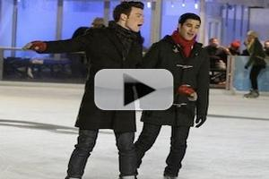 VIDEO: Sneak Peek - GLEE's Kurt & Blaine Have Holiday Reunion in NYC