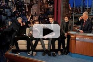 VIDEO: Dustin Hoffman Crashes One Direction's Interview on Tonight's LATE SHOW WITH DAVID LETTERMAN