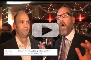 STAGE TUBE: The Second City's A CHRISTMAS CAROL: TWIST YOUR DICKENS! Opening Night Party