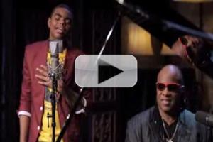 VIDEO: Stevie Wonder Makes Surprise Appearance with Ahsan on 'Ribbon In The Sky' Cover