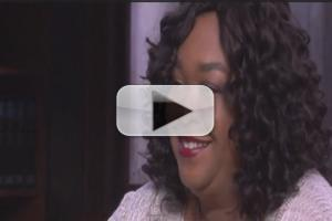 VIDEO: Shonda Rhimes: Katherine Heigl's GREY'S ANATOMY Insult 'Stung'