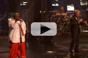 VIDEO: CeeLo Green, Rod Stewart Team Up for 'Merry Christmas Baby' Duet
