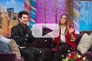 VIDEO: Adam Lambert Talks IDOL Days and More on WENDY WILLIAMS