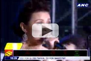 STAGE TUBE: Lea Salonga Sings LES MIS with Blake in Quezon City Christmas Concert