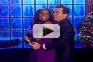 VIDEO: Audra McDonald Sings Holiday Classic on THE COLBERT REPORT