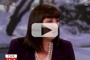 VIDEO: Anjelica Huston Talks SMASH & More on 'The Talk'