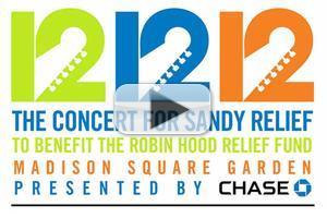 WATCH LIVE: 12-12-12 Hurricane Sandy Relief Concert!