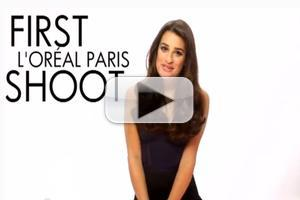 VIDEO: Behind the Scenes With Lea Michele at L'Oreal Paris Shoot