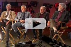 VIDEO: Douglas, DeNiro, Freeman & Kline Chat New Film LAST VEGAS