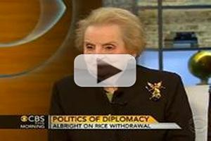 VIDEO:  Madeleine Albright Visits CBS THIS MORNING
