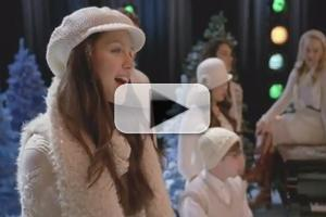 STAGE TUBE: GLEE Takes on 'Have Yourself a Merry Little Christmas'