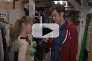 BWW TV Exclusive: Backstage at the Brooks Atkinson with PETER AND THE STARCATCHER's Adam Chanler-Berat & Celia Keenan-Bolger - Part 1!