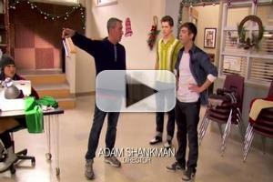 VIDEO: Behind the Scenes of 'GLEE, Actually'