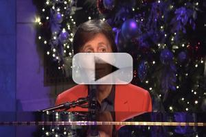 VIDEO: Paul McCartney Performs 'My Valentine' on SNL, 12/15